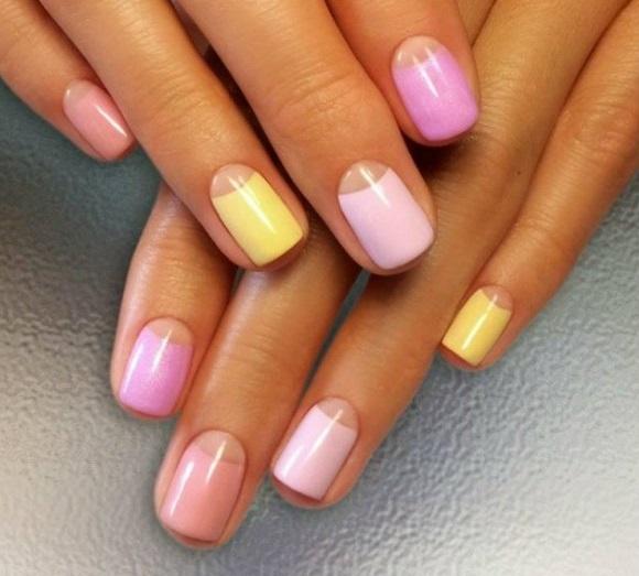 Գել-լաքը manicure